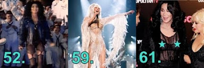 '66 Things We Love About Cher' numbers 52, 59 and 61