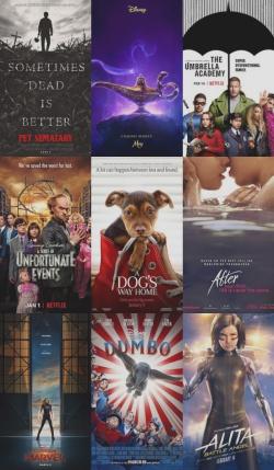 Lista de adaptaciones 2019