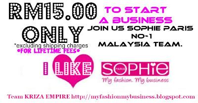 Mulakan perniagaan jutaan ringgit anda sekarang dengan hanya RM15 sahaja bersama Team KRIZA EMPIRE!