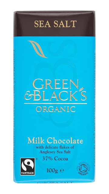 Green & Blacks Sea Salt with Milk Chocolate