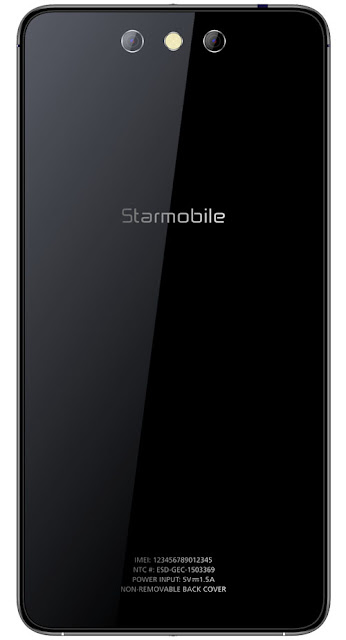 Starmobile Knight Spectra Qualcomm Snapdragon 615 Octa Core Processor