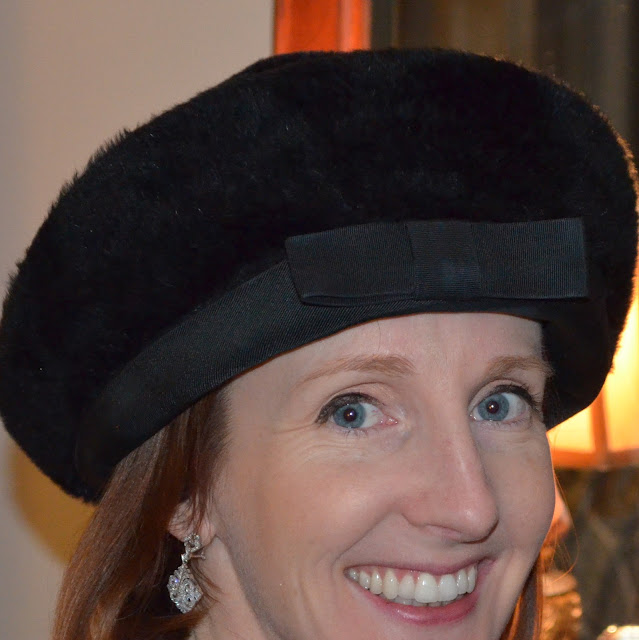 Elsa Schiaparelli faux fur hat
