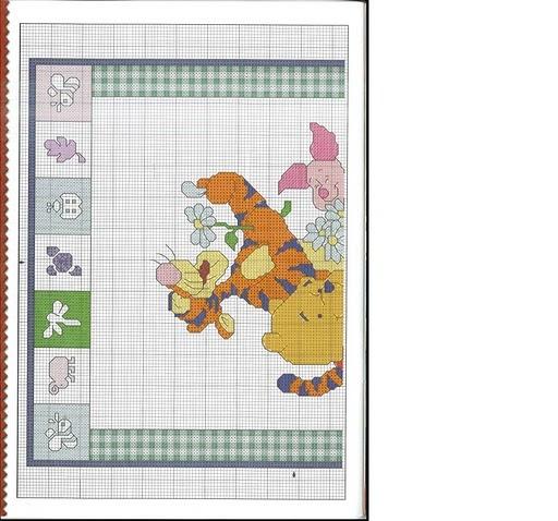 Punto croce winnie the pooh 1 for Winnie the pooh punto croce