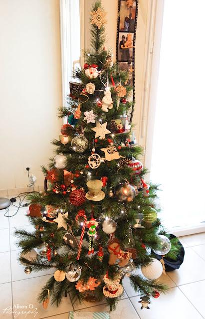 Décoration Noël sapin