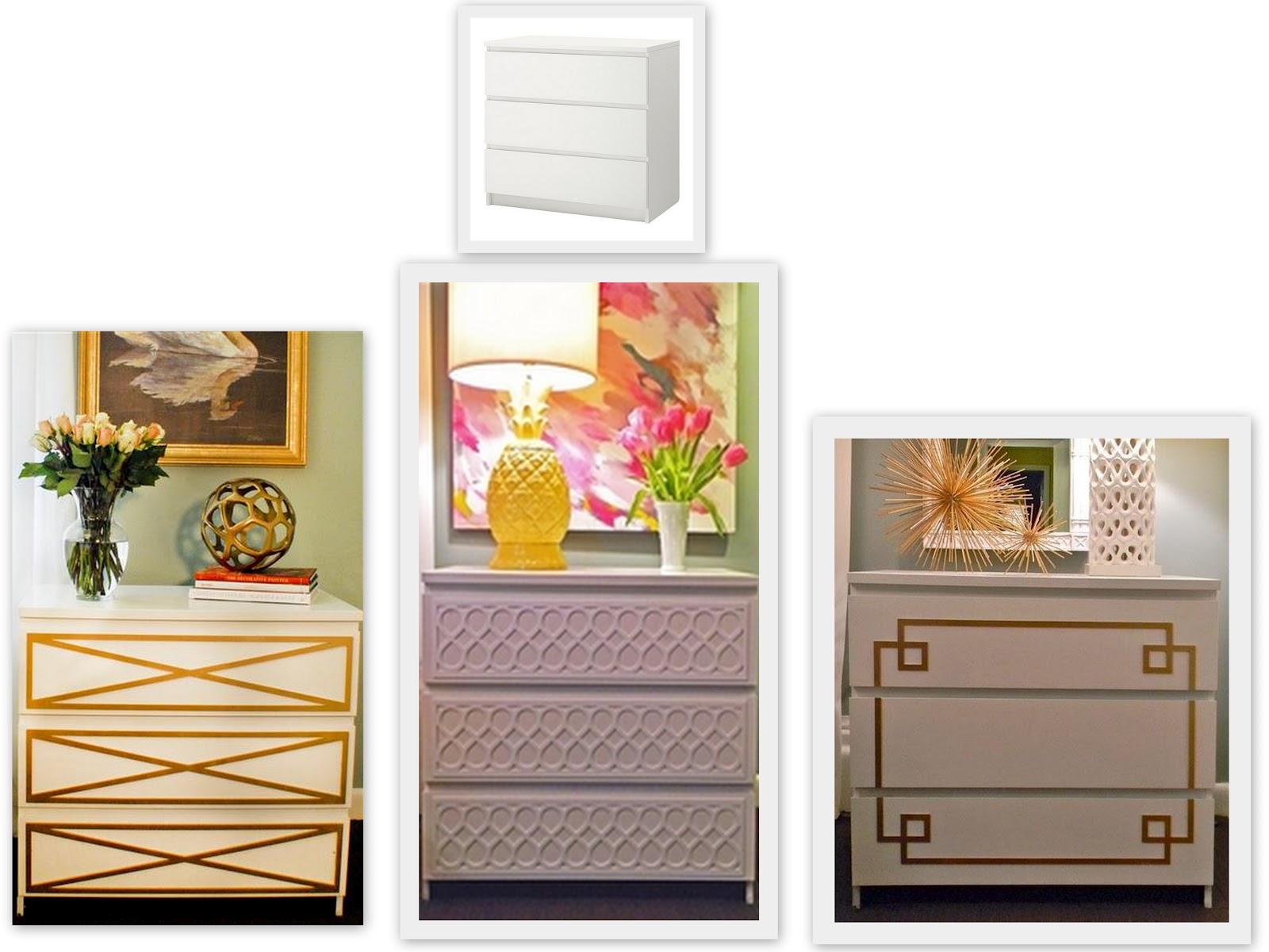 Ikea Frisiertisch Aufbewahrung ~ Here are two transformations of the Ikea Rast Dresser using O'verlays