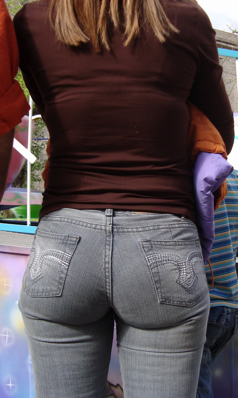Perfect ass in jeans