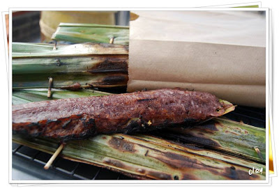 ขนมจาก_Sticky Rice With Coconut In Palm Leaf_ニッパ菓子