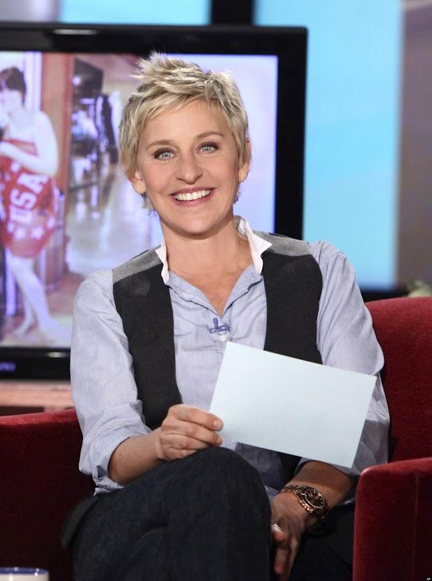 Ellen Degeneres repetirá a experiência de 2007 como apresentadora do Oscar