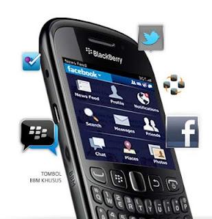 Blackberry Davis Curve 9220, Spesifikasi Dan Harga Terbaru