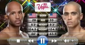 UFC 178: Vídeo da luta - Johnson x Chris Cariaso