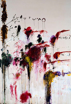 Cy Twombly   -  Quattro Stagioni: Autunno, 1993-5