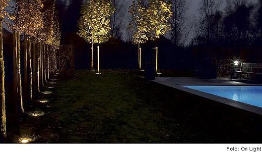 iluminacao para jardim residencial