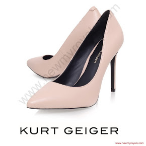 Princess Sofia Style KURT GEIGER Pumps and ZARA Dress