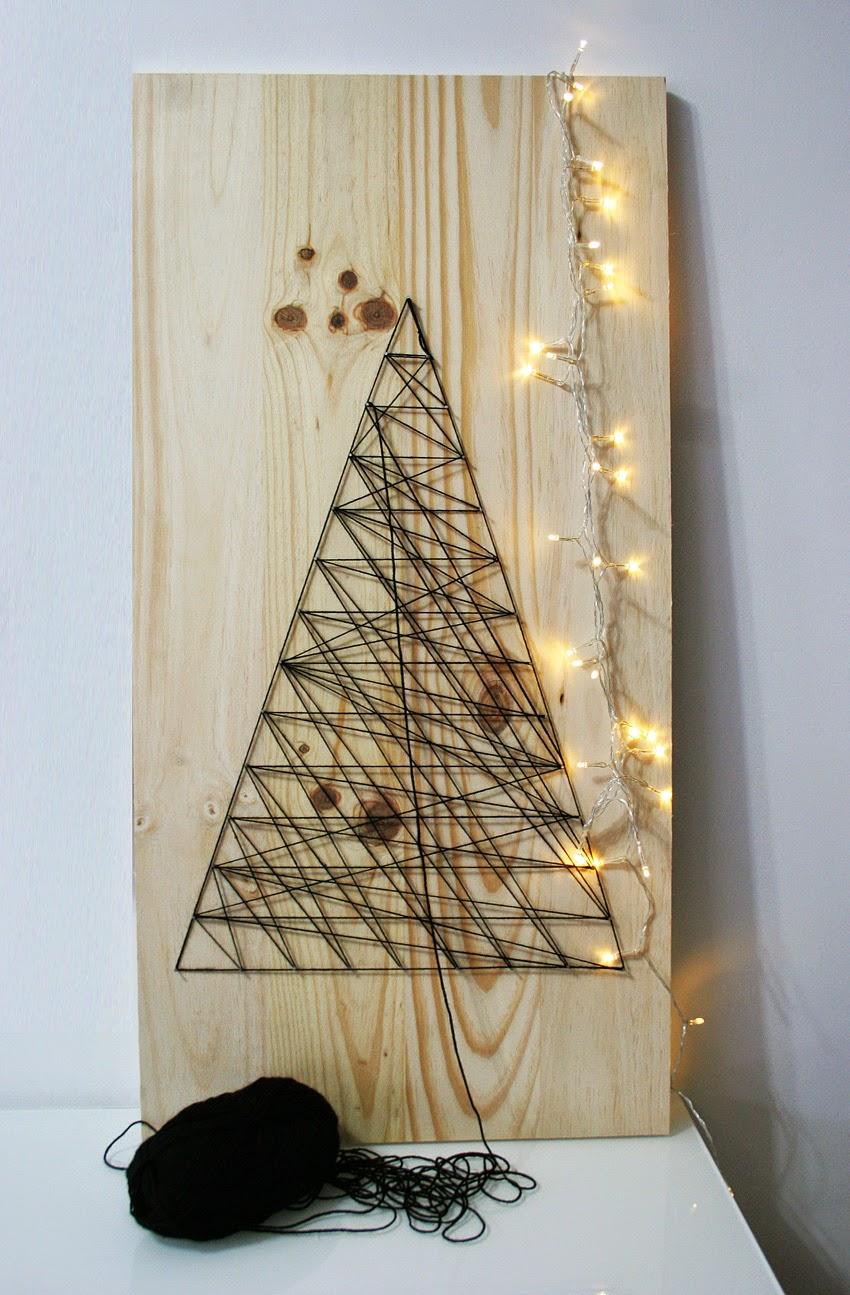 El árbol de navidad handmade de Decorar en familia - DIY2