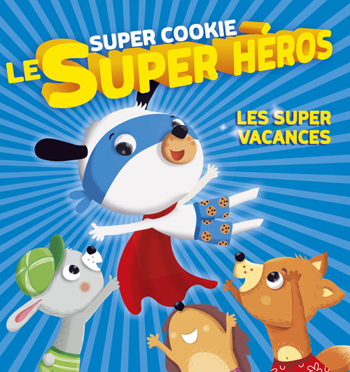 Les Super vacances de Super Cookie