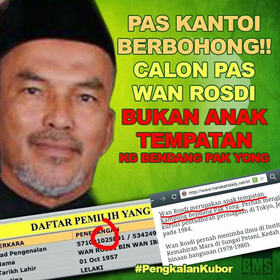 PRK PengkalanKubor Apa beza calon PAS dengan bekas MB PAS Perak