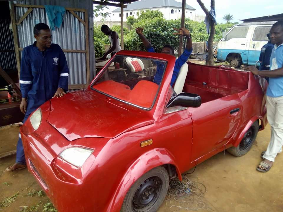 UNIPORT STUDENTS OF THE IONS GROUP INVENTS MOTOR CAR