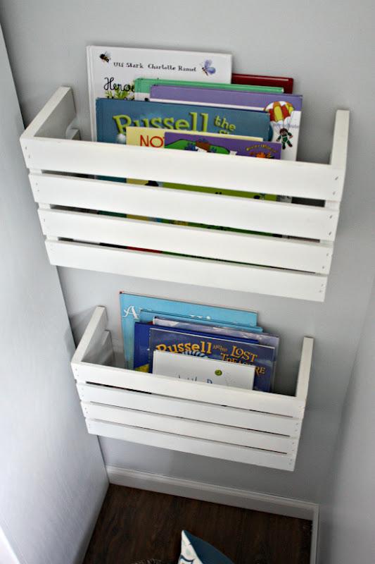 DIY Book Storage Crate