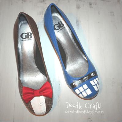 Al Yapımı Topuklu Boyalı Ayakkabı