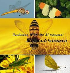 "Задание ""Жовтий+комахи"""