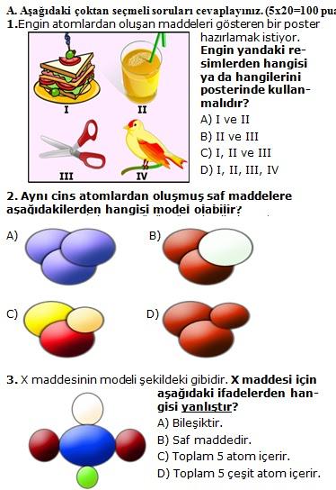 Sinif fen ve teknoloji 1 dönem 3 yazılı soruları indir 2012