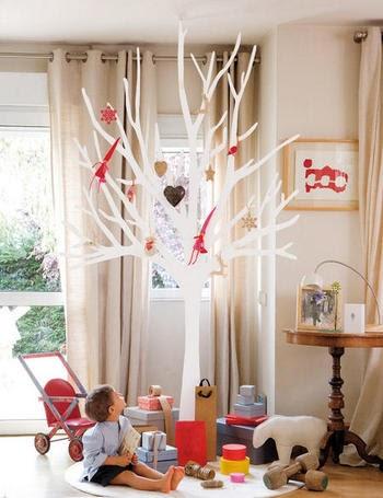 El caj n de sof a ideas para decorar en navidad rboles - Los penotes decoracion ...