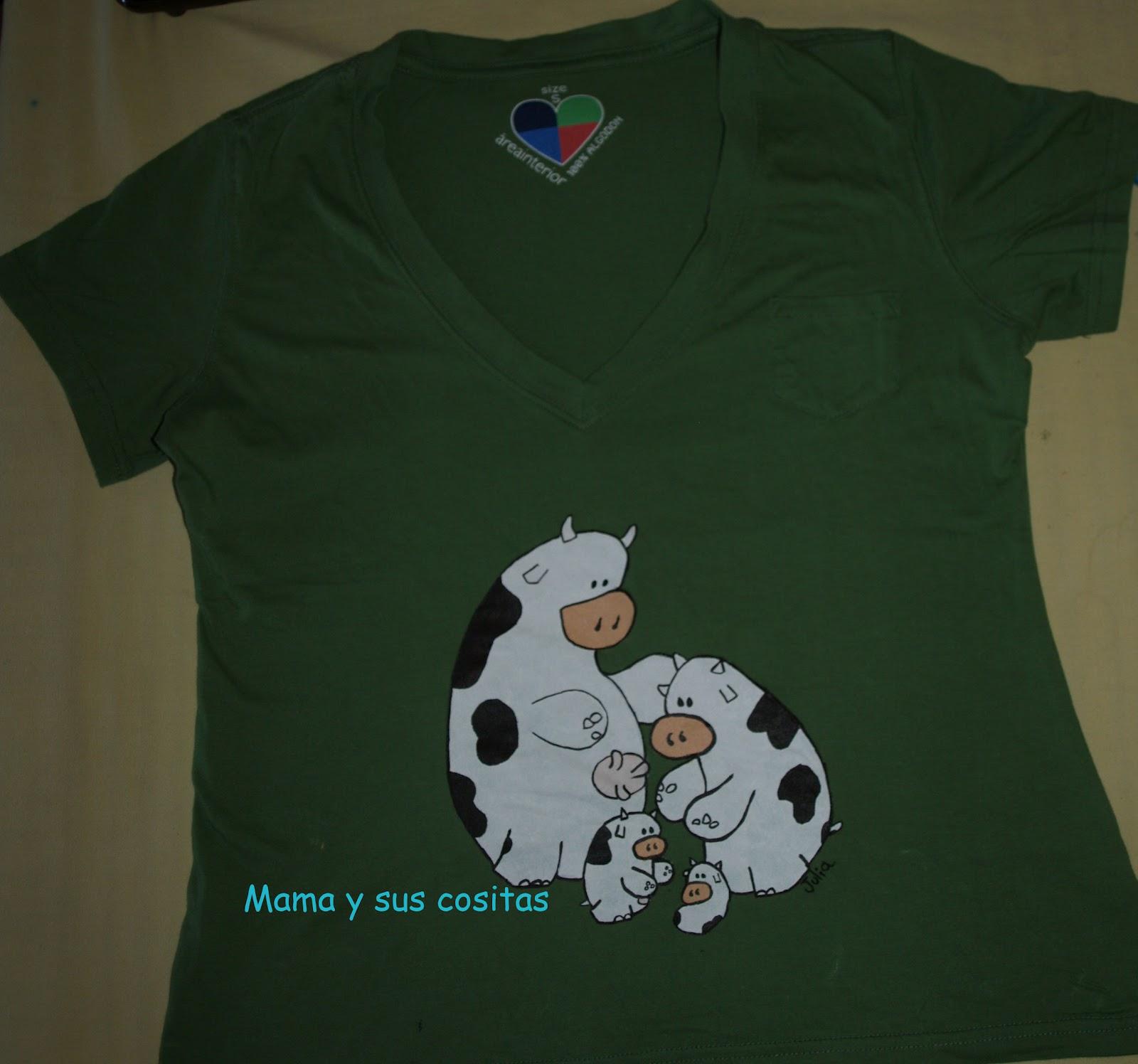 Mam y sus cositas camisetas pintadas - Plantillas para pintar camisetas ...