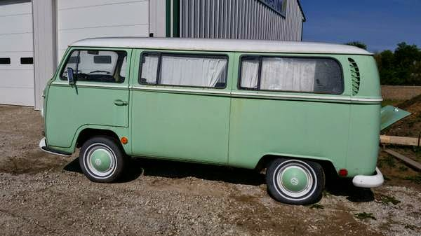 1968 early bay window deluxe bus vw bus wagon for 1963 vw samba t1 21 window split screen campervan