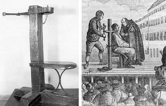Torturas Medievais - Garrote