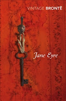Vintage edition book cover of Jane Eyre by Charlotte Bronte