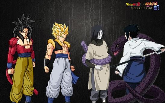 Trunks vs Sasuke HD wallpaper (547 x 342 )