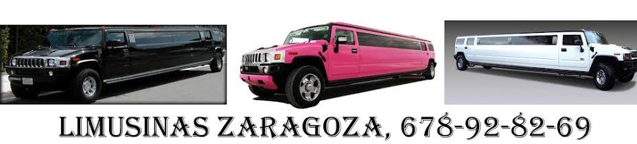 LIMUSINAS ZARAGOZA, VIP, TLF: 678 92 82 69