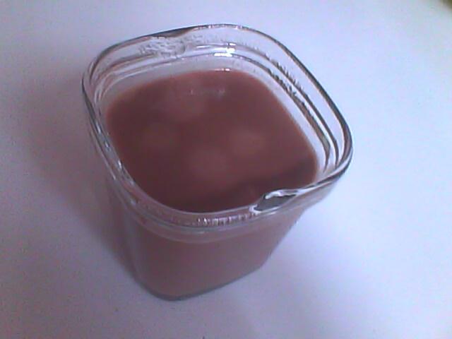 Mon thermomix mes tupp et moi by lallie cr me chocolat fa on les petits pots de la laiti re - Mon thermomix ne pese plus ...