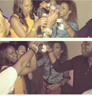 Photos of Genevieve Nnaji at Vanessa Amadi's bachelorette party