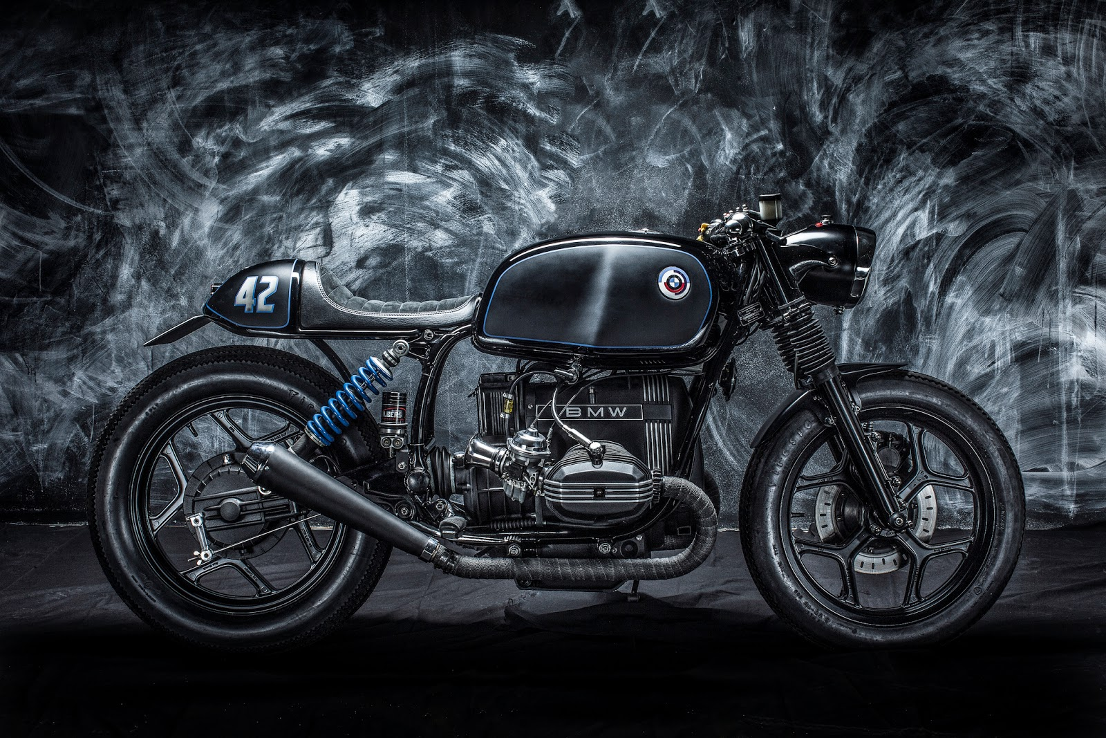 Connu BMW R65 Café Racer - RocketGarage - Cafe Racer Magazine AH87