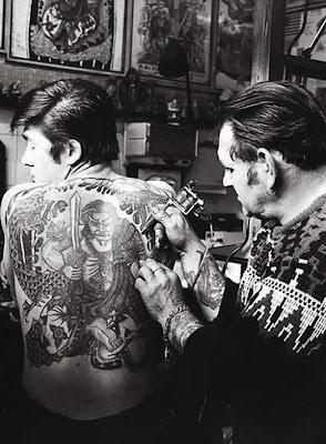 tattoo antiga samurai