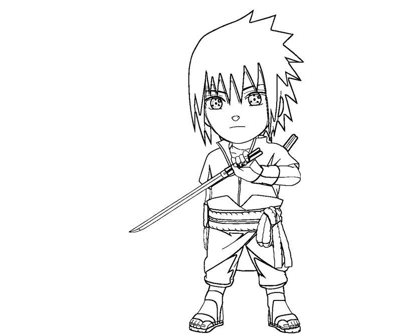 printable sasuke uchiha 27 coloring page