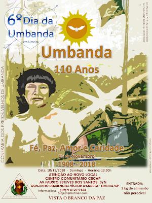 6º Dia da Umbanda em Limeira