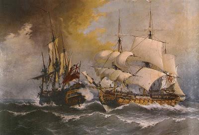 Spanish Galleon Transporting Hot Chocolate