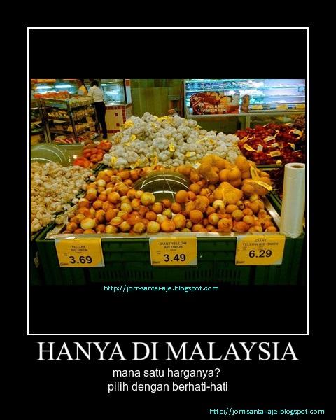 HANYA DI MALAYSIA