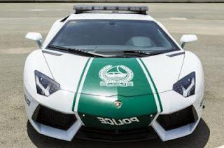 Lamborghini Mobil Patroli Polisi Dubai