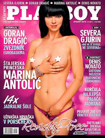 Playboy Slovenia - Marina Antolic - Agosto 2013