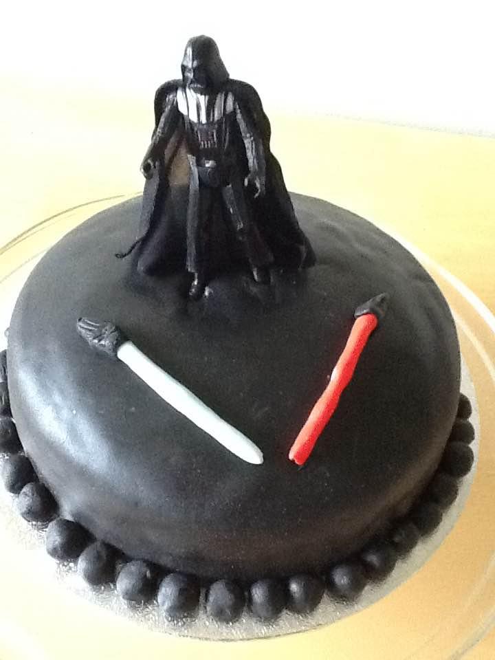 Darth Vader Birthday Cake For Tia