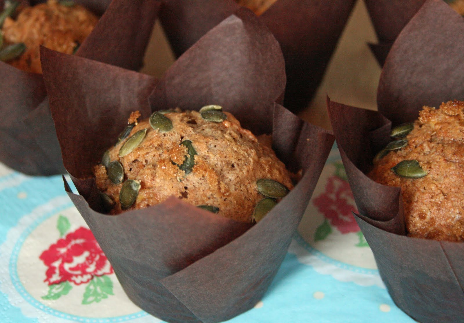 used some tulip muffin cases to give that deli style finish which ...