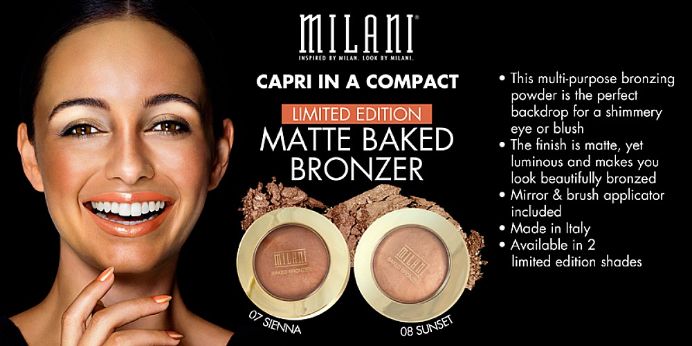 Milani Cosmetics Limited Edition Baked Matte Bronzers