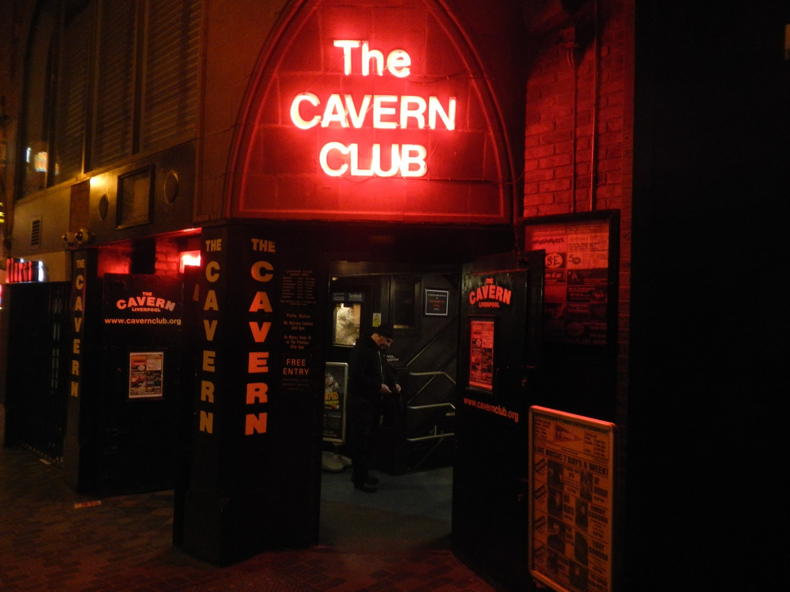 Pictures of the cavern club liverpool