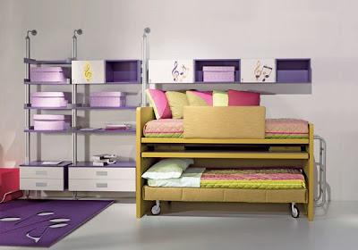 diseño de dormitorio juvenil para dos