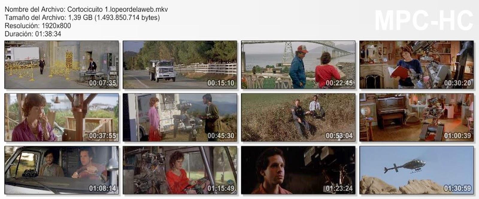 Cortocircuito (1986) 1080p Latino/Ingles