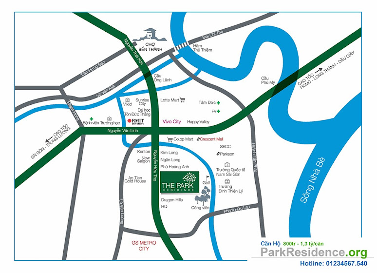 vị trí căn hộ park residence, căn hộ park residence, can ho park residence, parkresidence.org