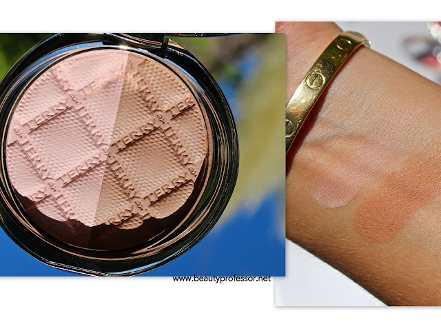 by terry compact contouring Fresh Contrast swatches